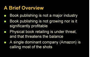 Overview of the book publishing startup investment problem
